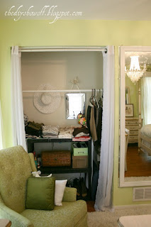 Closets Before Had Curtains For A Few Years U2013 I Hated That Wood Tone That  Much! BIFOLD CLOSET DOORS Become FRENCH ...