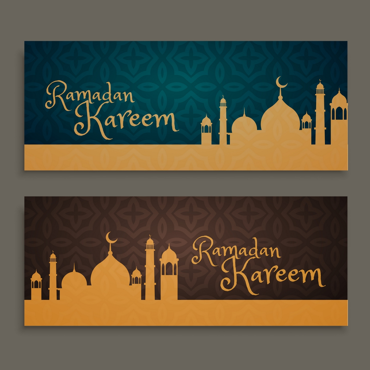 Vector Background Spanduk Ramadhan ~ Lawang Habang