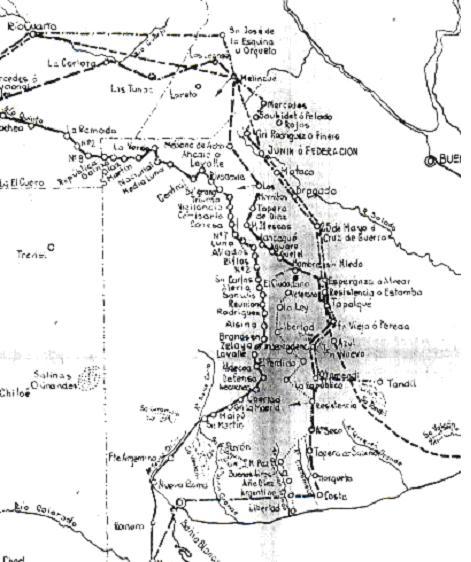 LAS LINEAS DE FORTINES EN LA FRONTERA SUR DE BUENOS AIRES - El Arcón de la Historia