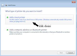 Cara Instal Driver Printer 1