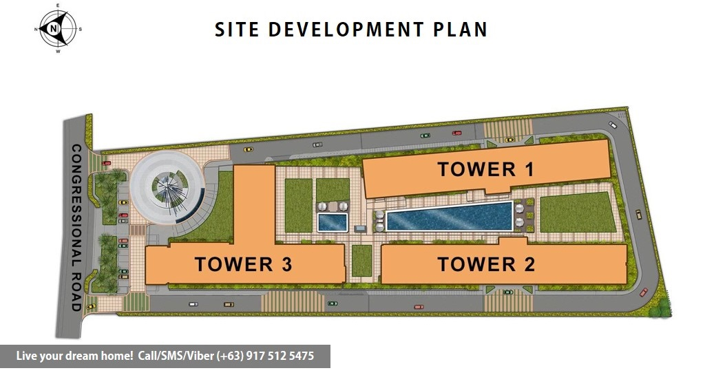 Site Development Plan | SMDC Green 2 Residences - Studio Unit | Condominium for Sale Dasmarinas Cavite