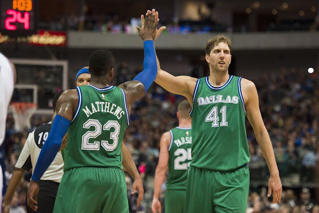 Dirk Nowitzki a été précieux dans le succès de Dallas contre Portland
