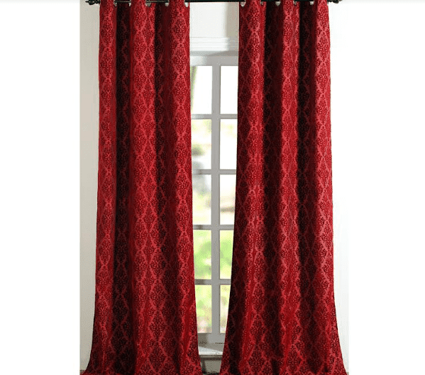 Decowindow Curtain Victoria Red price 419-min