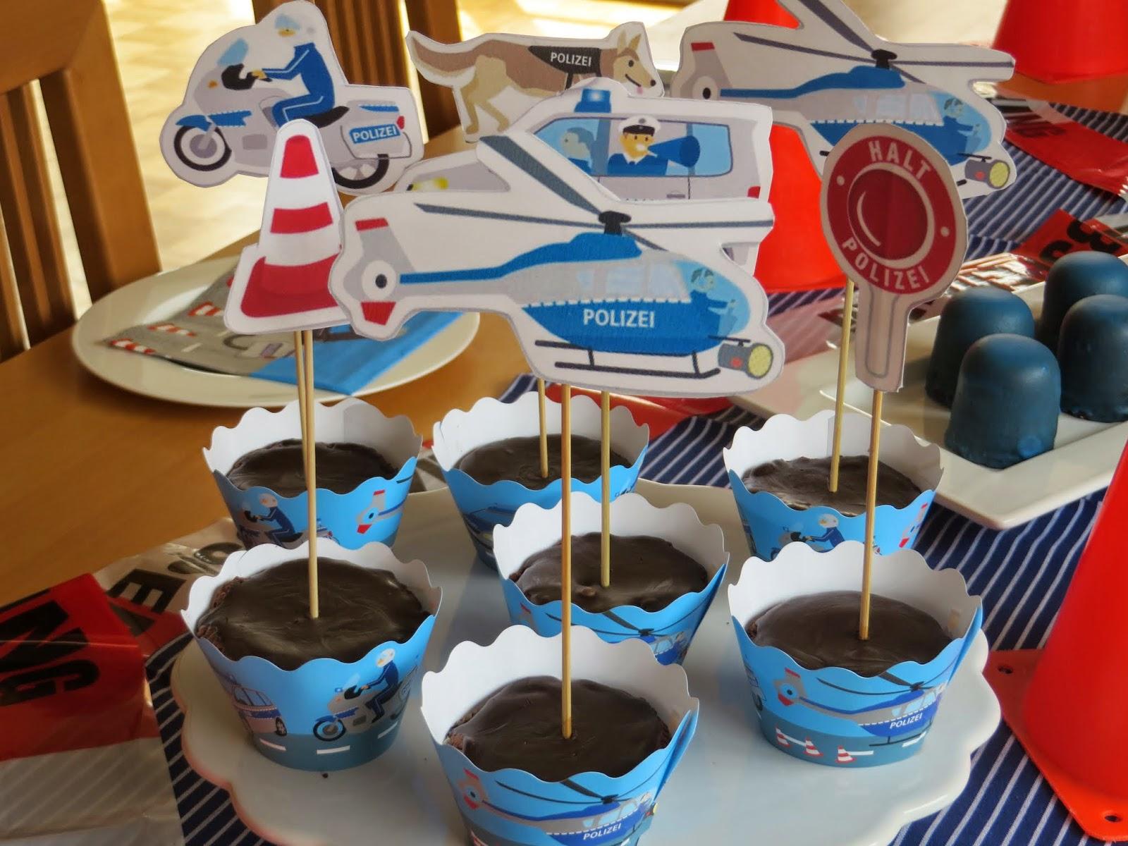 Polizei Kuchen Kindergeburtstag Deko Ideen Kuchen Kindergeburtstag