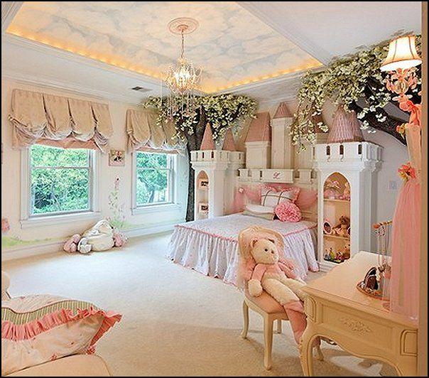 Cuartos para ni a estilo princesa dormitorios colores y for Cuartos de nina vintage