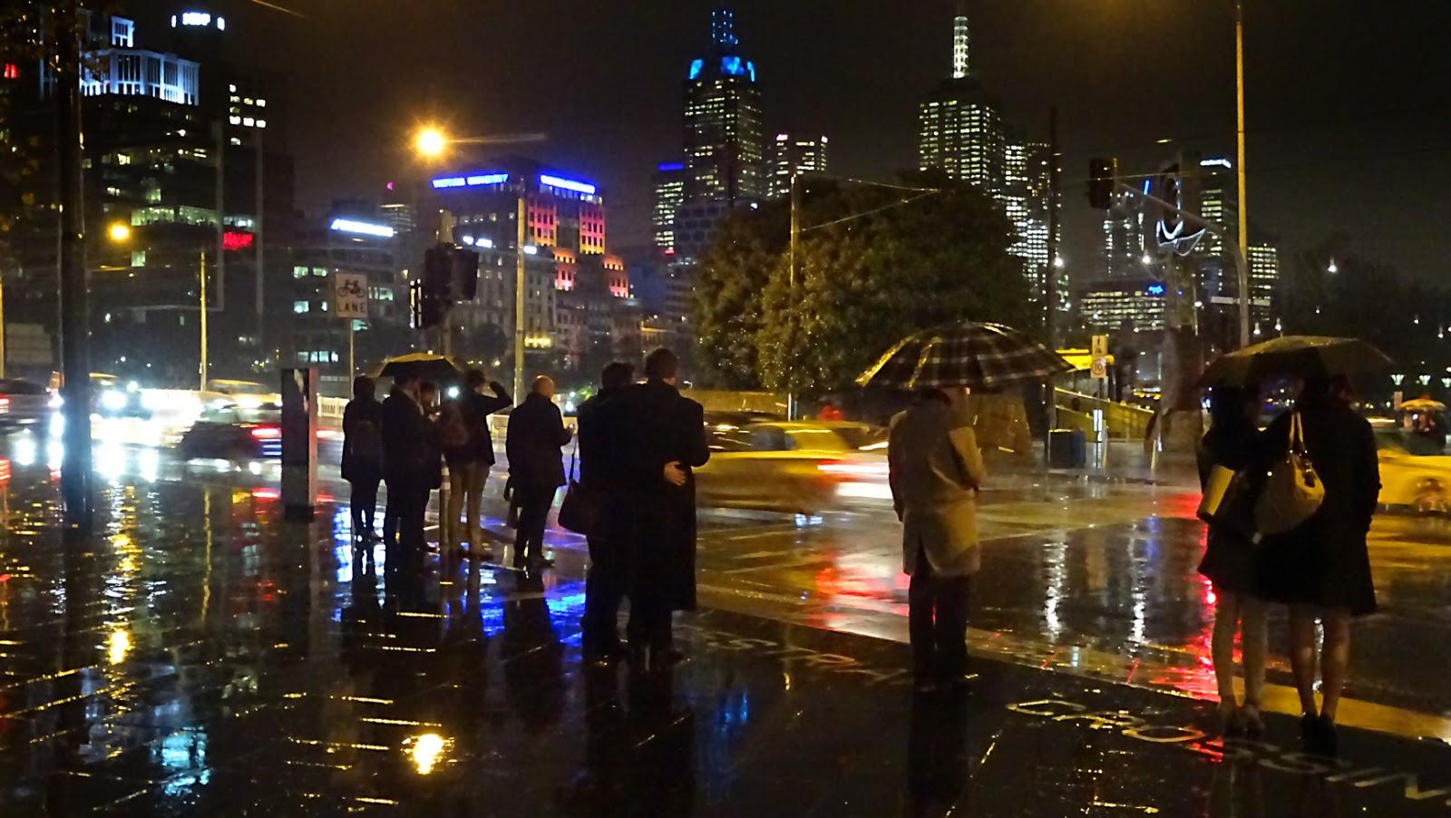 MAP: RAINY NIGHT IN THE CITY