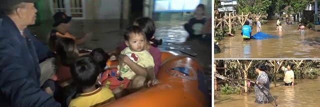 Banjir Kiriman Wonosalam Rendam Delapan Desa di Dua Kecamatan