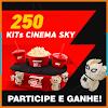 250 Pessoas serão presenteadas com um Kit Cinema da SKY