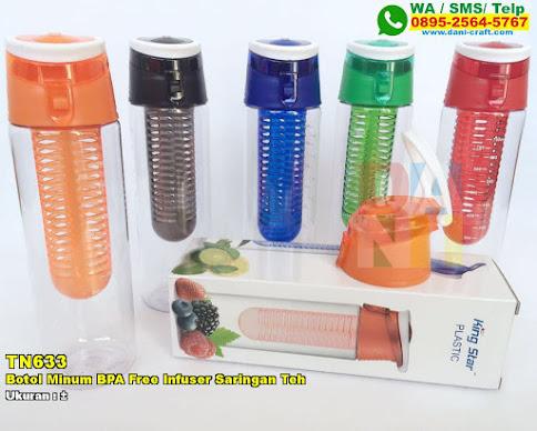 Botol Minum BPA Free Infuser Saringan Teh