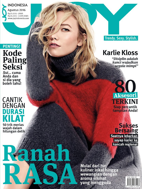 Fashion Model, @ Karlie Kloss - Joy Indonesia August 2016