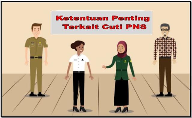 Ketentuan Penting Terkait Denga Cuti PNS PP Nomor 11 Tahun 2017