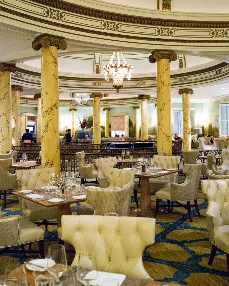 Tea Travellers Societea: THE FAIRMONT HOTEL SAN FRANCISCO - LAUREL COURT