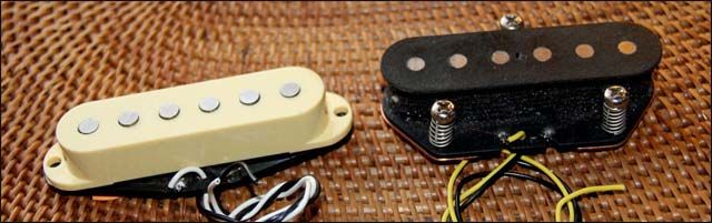 Pastilla Telecaster vs Stratocaster: Diferencias