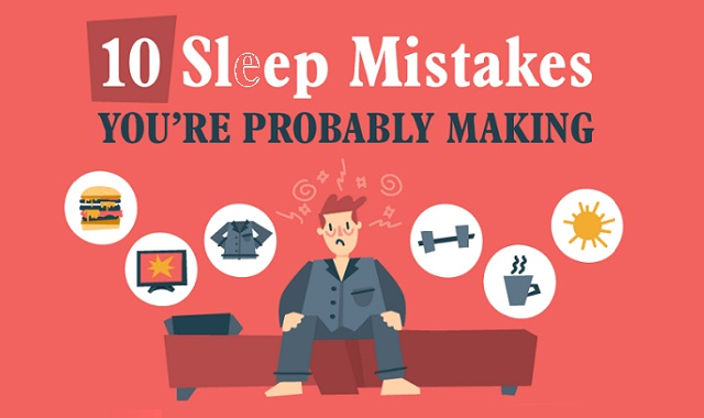 10 Sleep Mistakes You're Probably Making