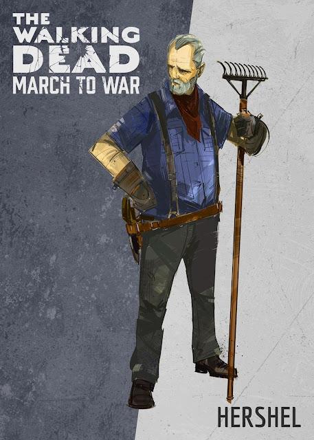 The Walking Dead: March to War - Hershel