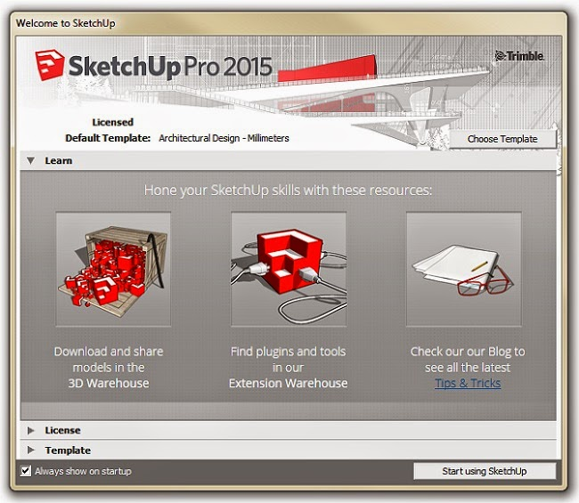 Download Software Full Version: Google SketchUp Pro 2015