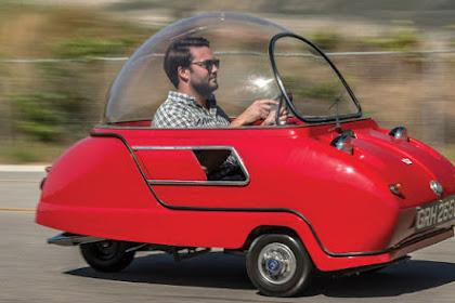 Mobil Mini Bak Piring Terbang Ini Dijual Rp1,3 Miliar