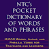 EBOOK - NTC's Pocket Dictionary of Words and Phrases - 12000 Words, Idioms - Richard A. Spears. PH. D