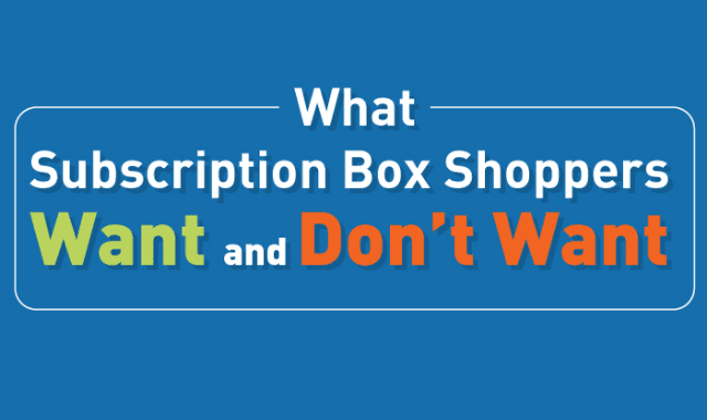 The Likes & Dislikes of Subscription Box Shoppers