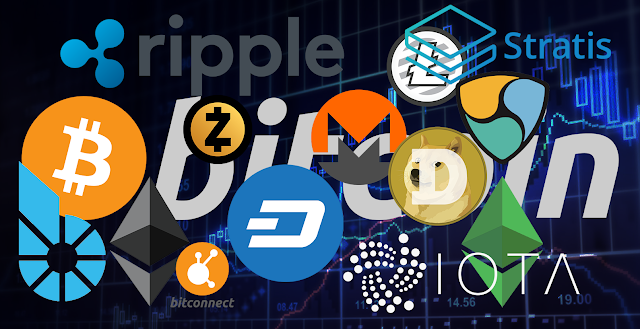 Altcoins, Bitcoin, Ripple, Zcash, NEM