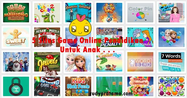 5 situs game online anak