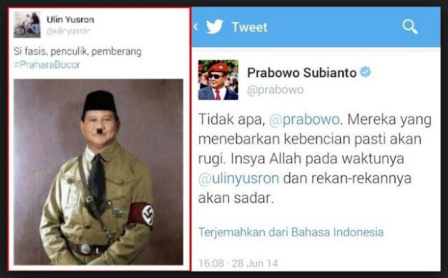 Gerindra: Ujaran Kebencian pada Prabowo Mana Pernah Ditindak