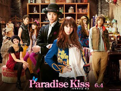 Znalezione obrazy dla zapytania paradise kiss film