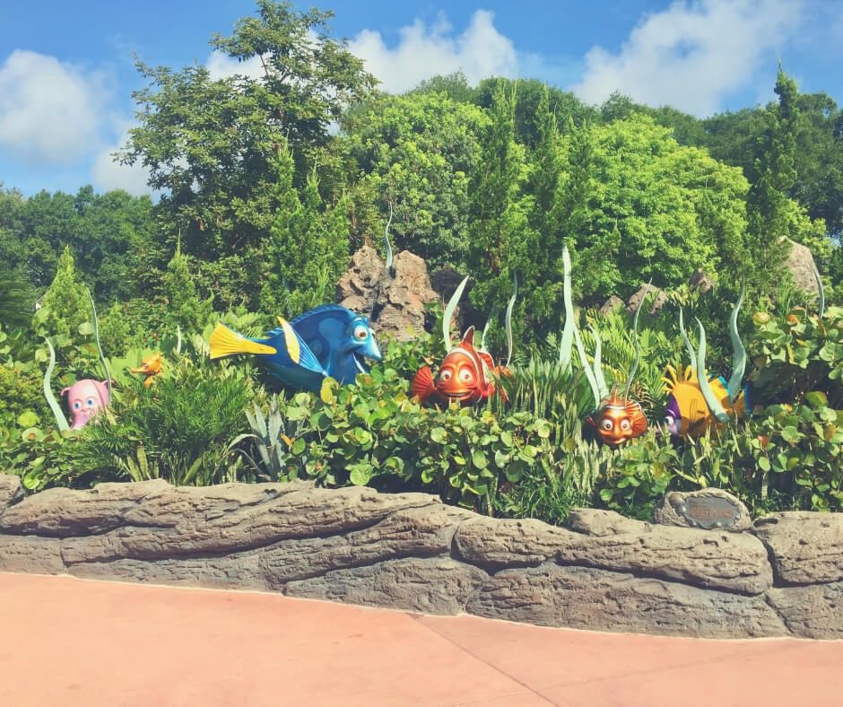 Top 7 Things To Do At Epcot, Walt Disney World   Visit Nemo and Friends to see more sea life.