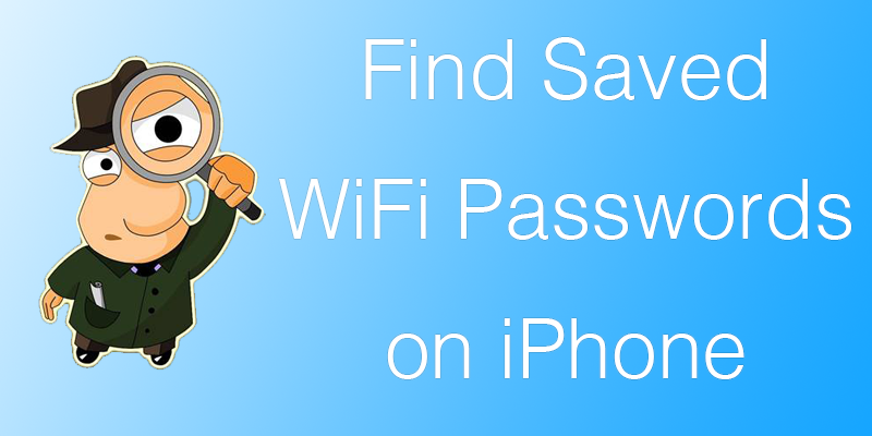 Find iPhone WiFi Password