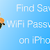How to View Saved WiFi Passwords on iPhone