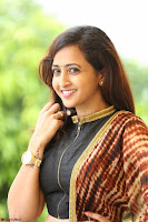 Lasya looks super cute in black choli Saree at Raja Meru Keka Press Meet ~  Exclusive 003.JPG