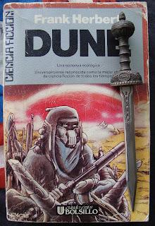 Portada del libro Dune, de Frank Herbert