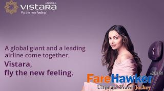 Deepika Padukone, brand ambassador for Vistara