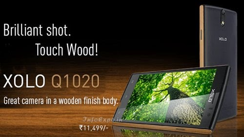 XoloQ1020: 5 inch,1.3 GHz Quad Core Android Phone Specs, Price