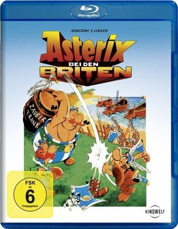 Asterix In Britain (1986) Dual Audio Hindi 480p BluRay 250MB ESubs Movie Download