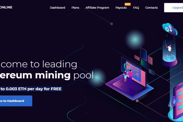 [SCAM] Kiếm Free Ethereum từ ETHOnline Mining - Mỗi ngày 0.003 ETH