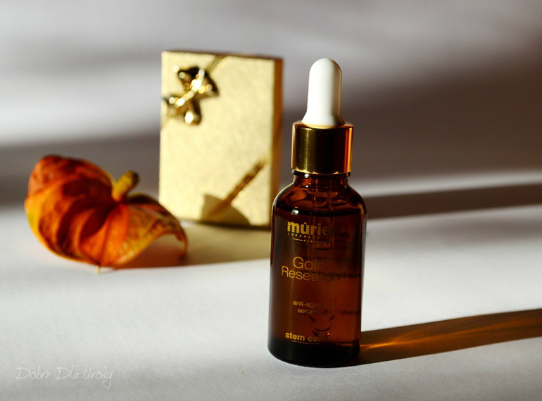 Murier Gold Research anti-aging Serum - serum ze złotem koloidalnym