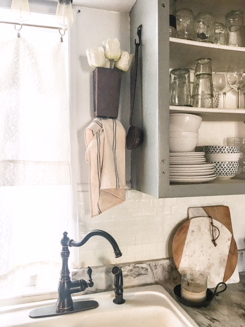diy vintage cheese grater towel holder