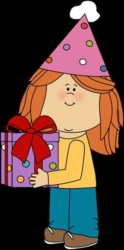 Presents Birthday Boy Cartoon