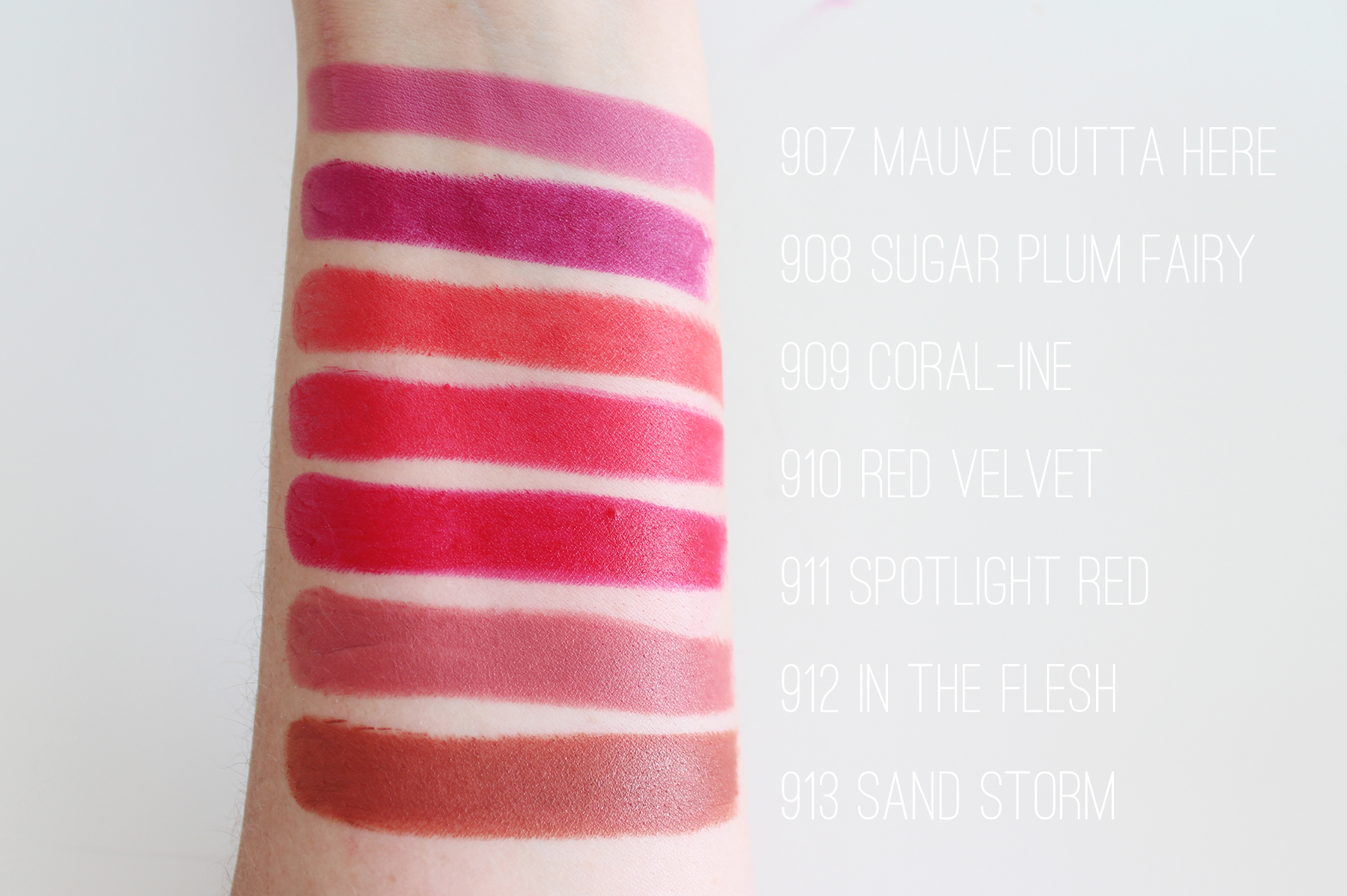 WET N WILD | MegaLast Lipsticks - Complete 26 Shade Collection + Swatches - CassandraMyee