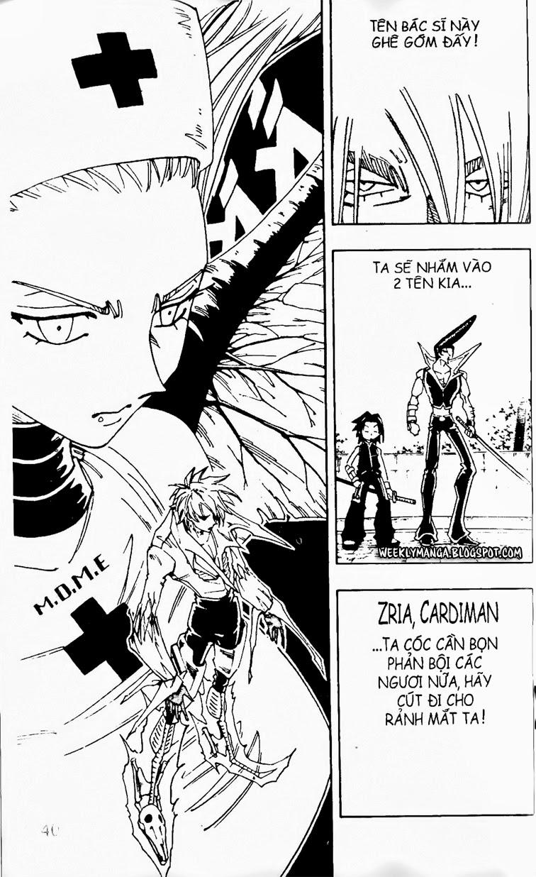 Shaman King [Vua pháp thuật] chap 131 trang 12
