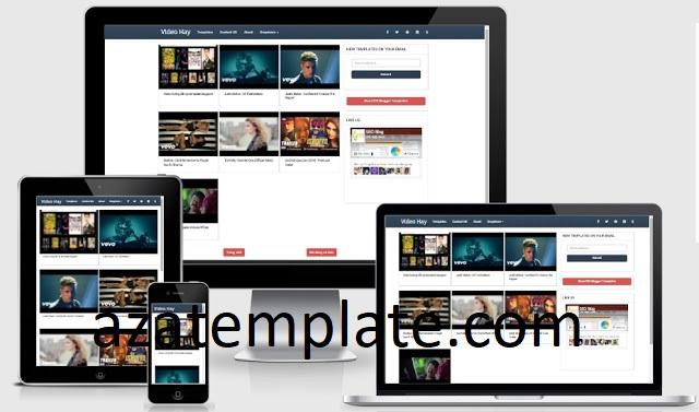Template blogspot chia sẻ video free