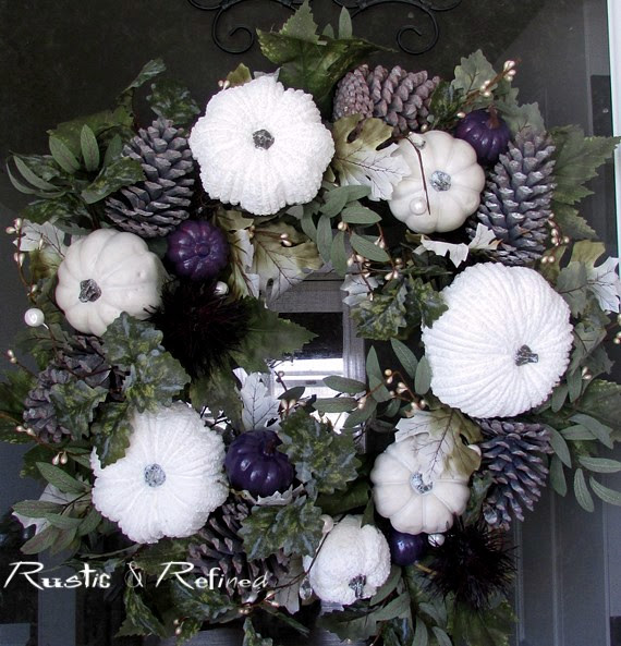 Wreath Ideas for Fall or Autumn