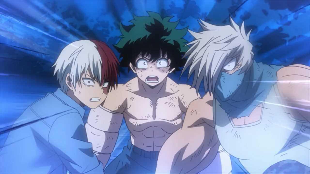 الحلقة السابعة من أنمي بطل أكاديميتي الموسم الـ3  Boku no Hero Academia S3 - 07