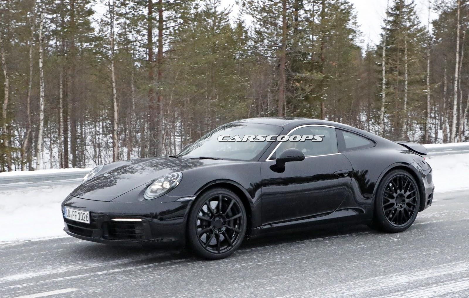 2019 Porsche 911 Reveals Its Form But Keeps Its Secrets