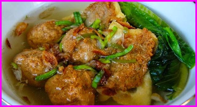 Resep Bakso Tahu Goreng Kuah Yang Gurih by Herti Kitchen