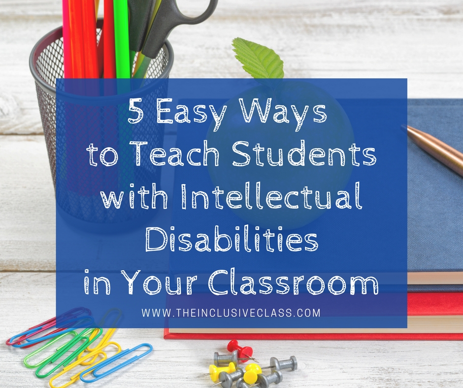 The Inclusive Class 5 Easy Ways To Teach Students With Intellectual