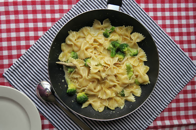 Chicken Brokkoli Pasta Alfredo | pastasciutta.de