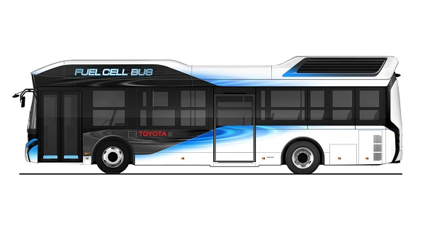 Toyota buses celda combustible