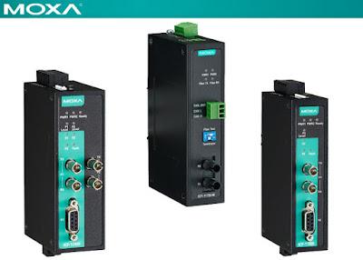 Moxa Fieldbus-to-Fiber Converters